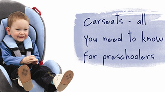 Car seats - all you need to know for preschoolers