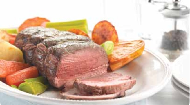 Mustard Roast Beef for each age and stage