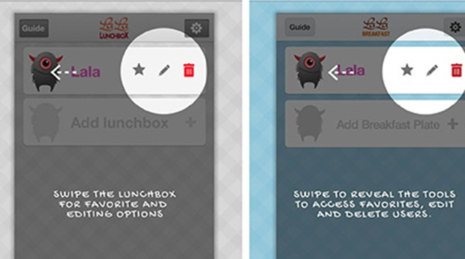 Help kids make their own lunch with this app