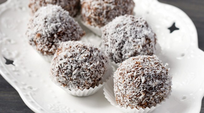 Heavenly chocolate truffles