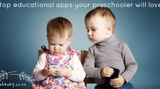 5 top educational apps your preschooler will love