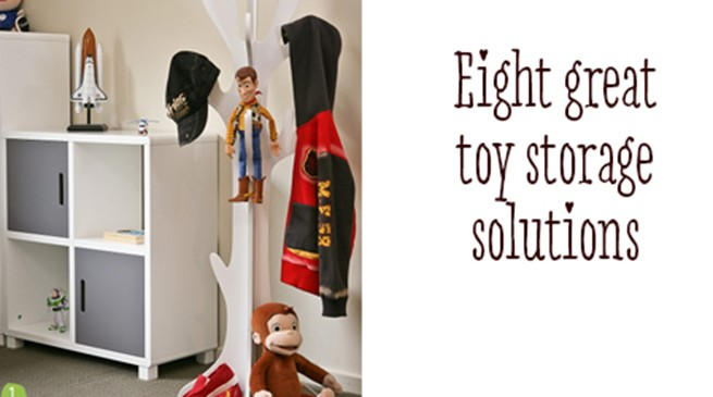 Eight great toy storage solutions