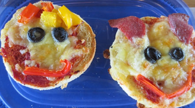 Fresh ideas for lunchboxes - prepared by kids!