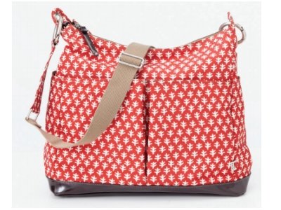 OiOi Poppy Red Hobo Bag