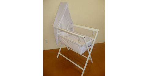 c1ca36ea5a31c Pamco Hanging Bassinet, Stand and Mattress, RRP$185, pamcocots.co.nz
