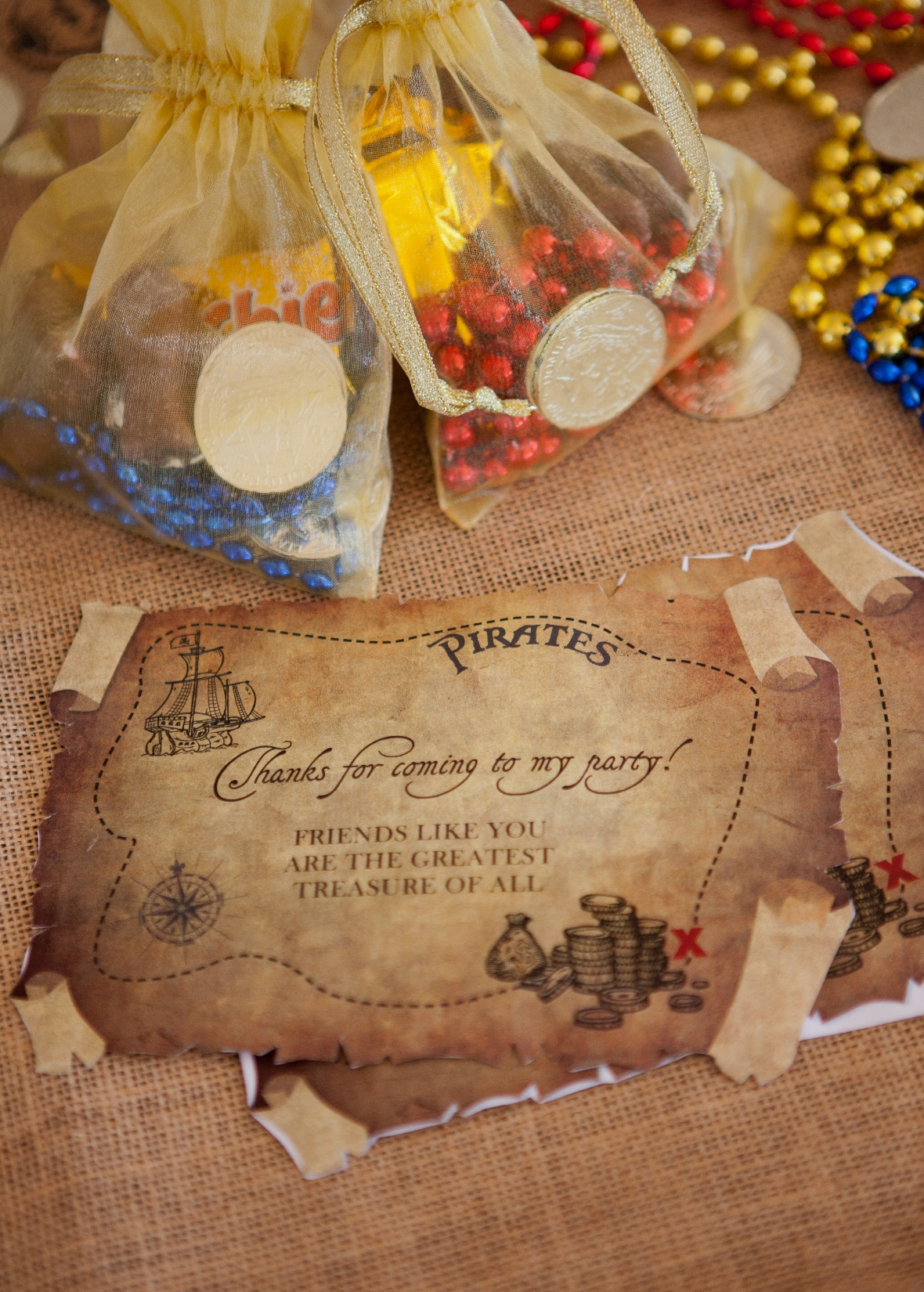 Plastic Gold Nuggets Decorations Favor Craft Western Pirate Birthday Party Event