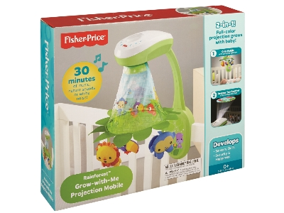 Fisher Price® Rainforest™ Grow-with-Me Projection Mobile