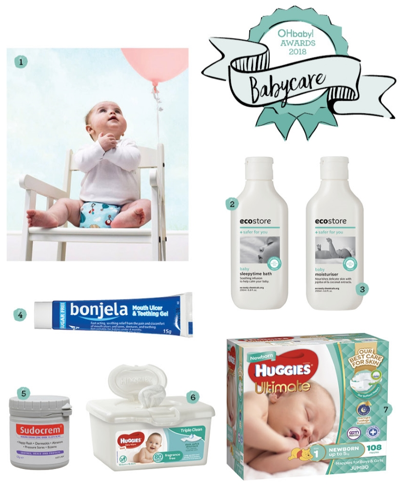 OHbaby! Awards - Babycare