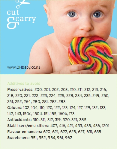 food additives and childhood behaviour Artificial food additives and the preservative, sodium benzoate, increased symptoms of hyperactivity when given to 153 3 –year and 144 8-9 year old children.