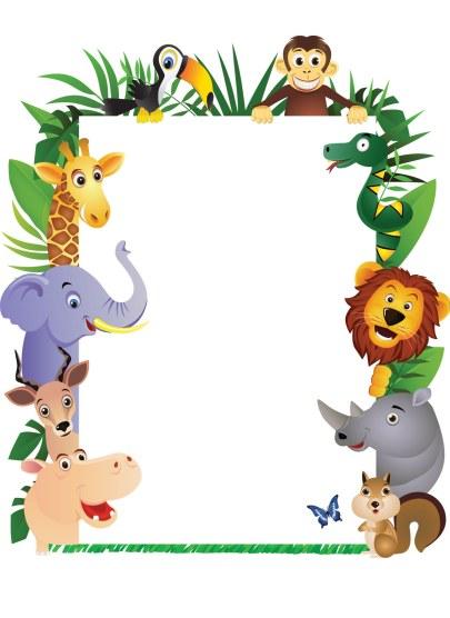 jungle print clip art - photo #48