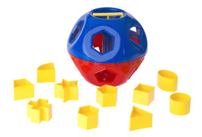 Tupperware Shape-O Sorting Ball